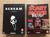 Scream Trilogy and Scary Movie Trilogy