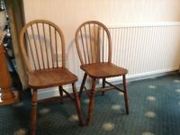 Two lovely kitchen chairs
