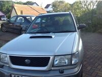 Subaru Forester 2 ltr turbo AWD Automatic