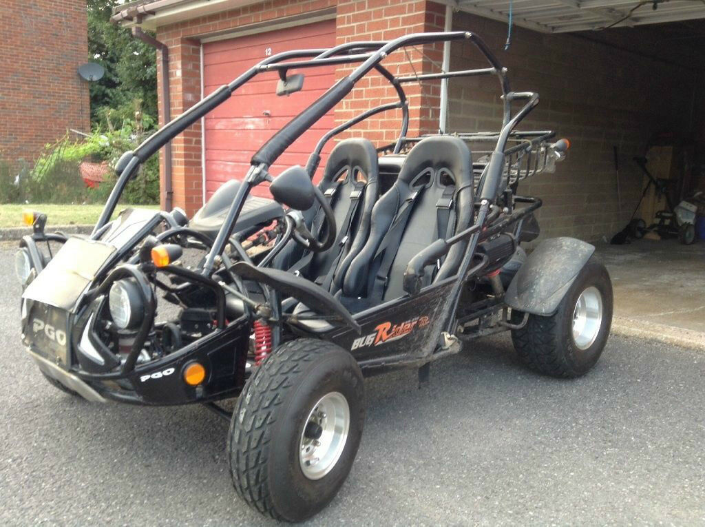quadzilla pgo bugrider 250 road legal buggy in southwick east sussex gumtree. Black Bedroom Furniture Sets. Home Design Ideas