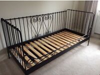IKEA day bed - black metal