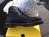 Dr martens size 10 safety boots . Brand new in box