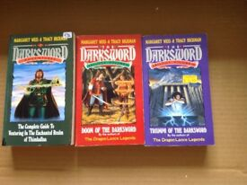 Margaret Weis & Tracy Hickman sci-fi books. The Darksword trilogy.