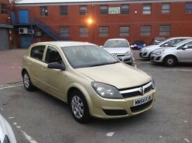 2005 Vauxhall Astra 1.6 Automatic with history and mot