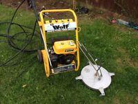 Wolf 3000psi petrol washer