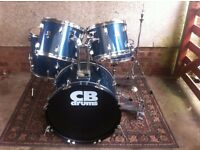 5 piece CB drums