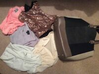 Bundle of ladies clothes size 10 and 12