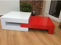 Gorgeous, High Gloss Coffee Table, New & Boxed