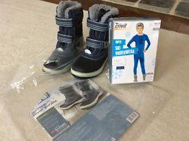 Boys ski clothes