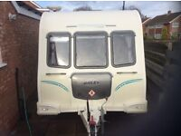 Bailey Olympus 464 Fixed bed 2010 tourer 4 birth, excellent condition throughout, well looked after