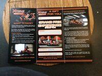 Karting voucher. Grand Prix Experience at Falkirk and Edinburgh.