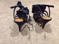 Two pairs of Kurt Geiger designer shoes excellent condition both size 5 and worn once each pair £25