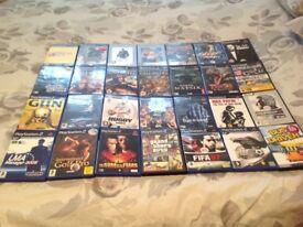 PS2 Games. Some unopened. Need gone asap.
