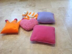 Selection of fun cushions