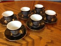 Japanese Expresso Cups and Saucers