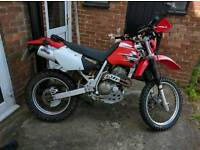 '99 Honda XR400 green laner off roader enduro