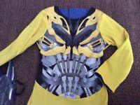 Transformer reversible costume for 5-6y