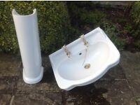 Bathroom basin - traditional style