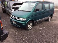 Ford Mazda bongo imaculate condion lift up roof 12 months mot