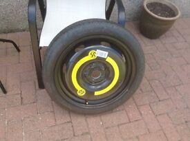 Space saver wheel & tyre
