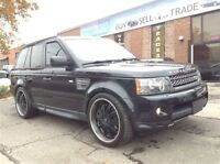 2011 Land Rover Range Rover Sport Supercharged !!! COMES WITH 2