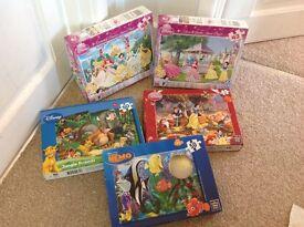 Disney puzzles 42 - 50 piece