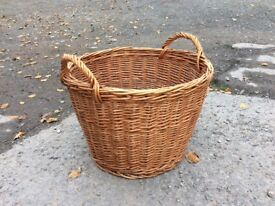 Log baskets 3 different styles