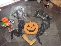 Bundle of Halloween Decorations and Trick or Treat Goodies