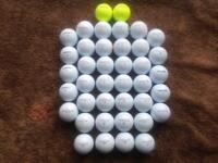 40 Pinnacle Golf Balls Pearl Grade.