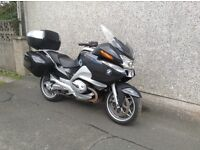 BMW R1200RT motorcycle for sale. Full BMW service history, 12 months mot, very low mileage.