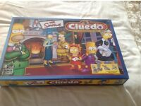Simpsons clued game