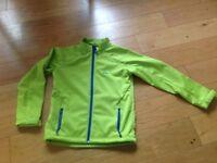 Quicksilver boys top/jacket age 12 lime green