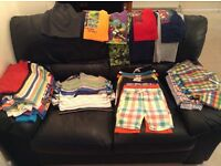 Massive Bundle of Boys Summer Clothes - age 5 - 6 years