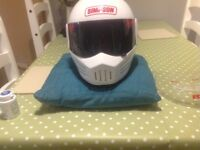 Large craft streetfighter crash helmet