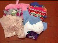 Bundle of girl's clothes age 6-8