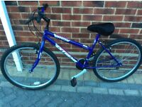 Ladies or girls bike in very good condition and very pretty bike.