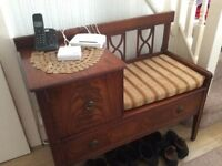 A Beautiful telephone table