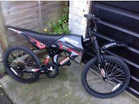 Boys Moto Flite Dual Suspension Cycle 6 speed