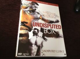 Undisputed trilogy DVD boxset