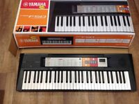 Boxed as new Electronic Yamaha keyboard PSR F50