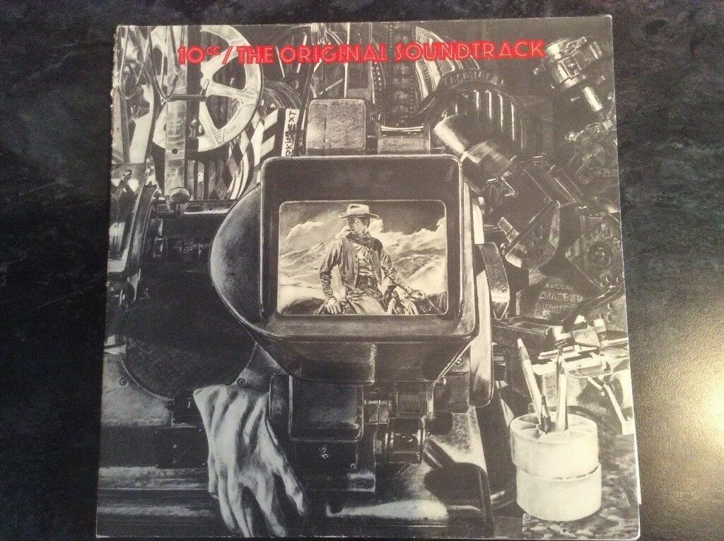 10CC -Original Soundtrack- Gatefold Vinyl LP Album 1975