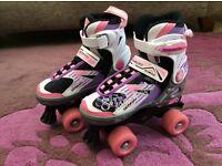 Blindside quad skate 1-3 (U.K.) pink/purple roller boots