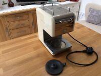 Kenwood KMix coffee machine in cream *no jug*