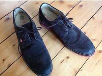 Men's brown suede shoes size UK 9 1/2, EUR 44.