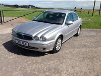 Jaguar x type 2.5 v6 automatic with an mot until the 9th of August 2017 with a 60 day warranty