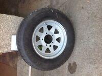 Suzuki 4x4 steel wheels n tyres