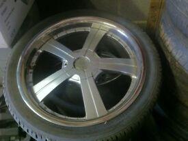 Vauxhall 17 inch alloywheels multifit 5x120 et40 17x7