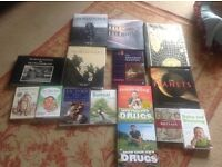 LARGE SELECTION OF NON FICTION BOOKS