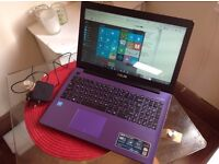 Brand new Asus Laptop 15.6 inch led laptop with 4GB Ram, 500 HDD, windows 8, intel processor