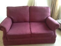 Marks & Spencer Two Seater Sofa/Settee. Length 66inches Width 33inches.